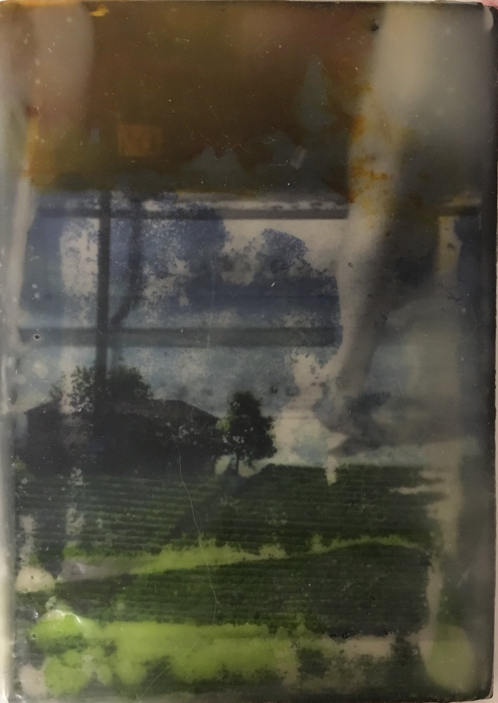 E. Marie Robertson, Combining Encaustic with Images and Photoraphy