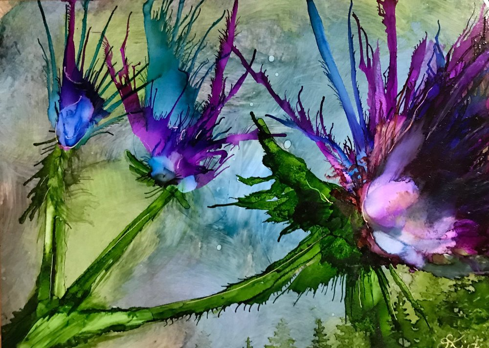 Intro to Alcohol Inks, Dottie Bruce
