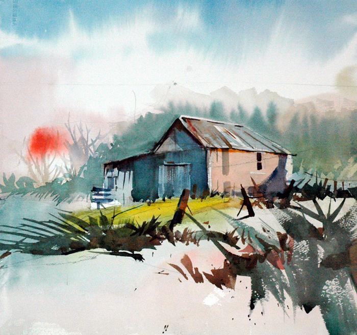 Dwight Rose, Interpreting the Landscape in Watercolor