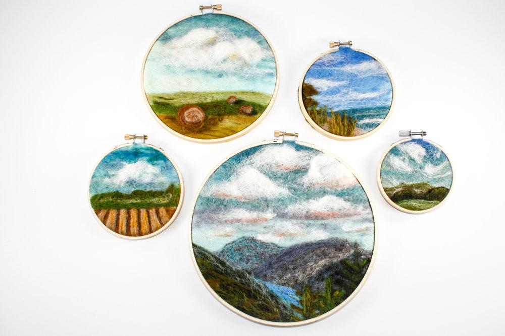 Sarah Mandell, Hoop Art