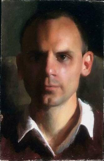 Daniel Helgemo, Portrait Painting from the Live Model