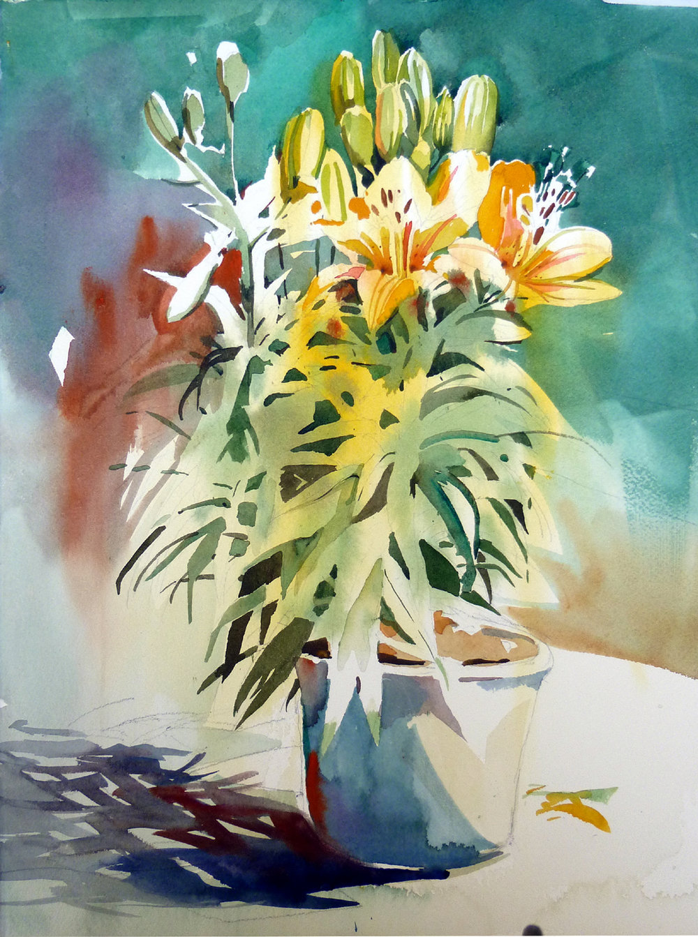 Dwight Rose, Foundations of Watercolor