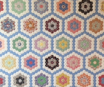 Debbie Moyes, Hand Pieced Quilts