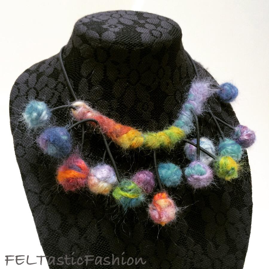 Cecilia Ho, Felt Jewelry