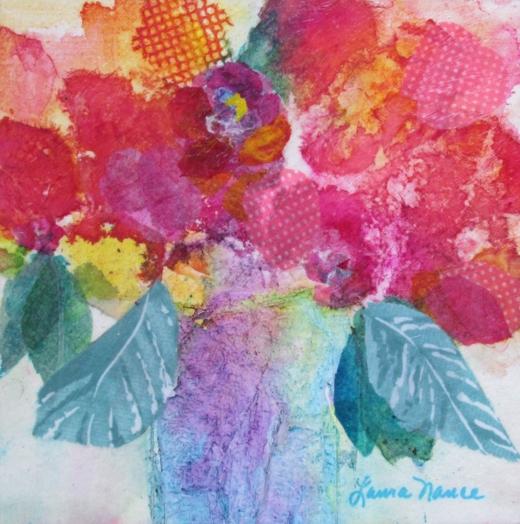Laura Nance, Paper Collage Workshop