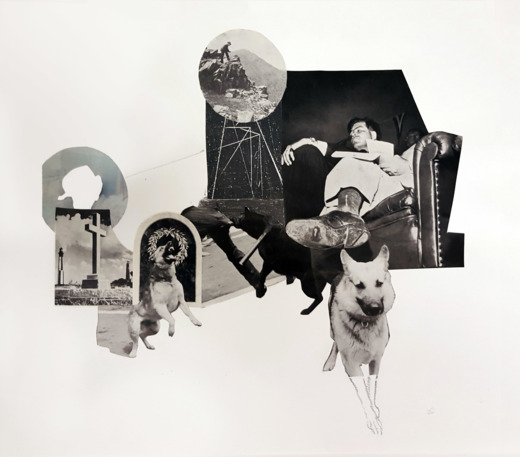 Kymberly Day, Collaging with Found Imagery