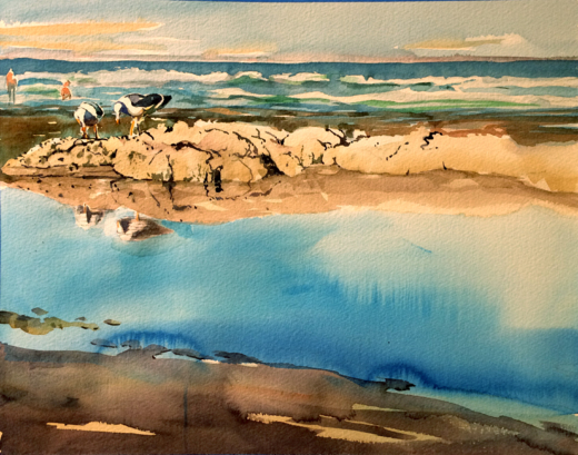 Dwight Rose, Seascapes & Lakes in Watercolor