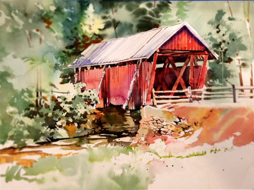 Dwight Rose, Paint Exciting Compositions from Nature in Watercolor