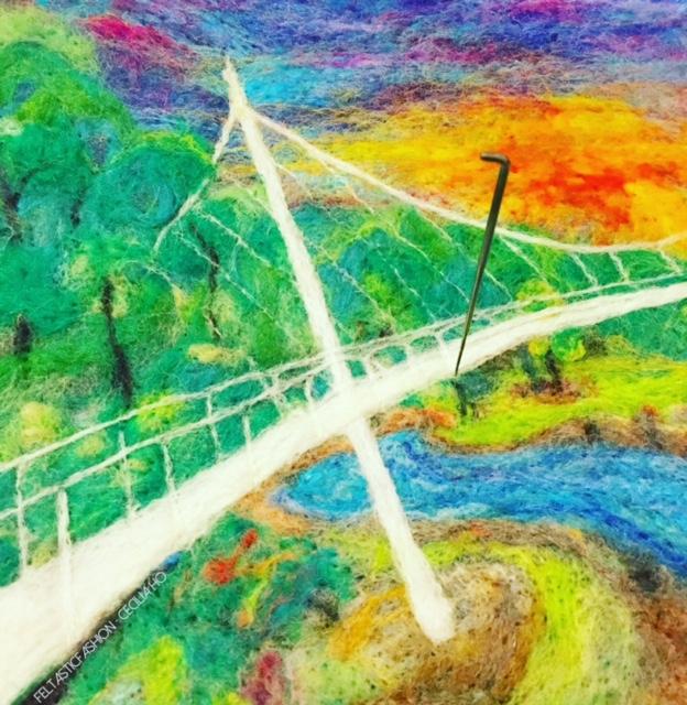 Cecilia Ho, Falls Park Liberty Bridge
