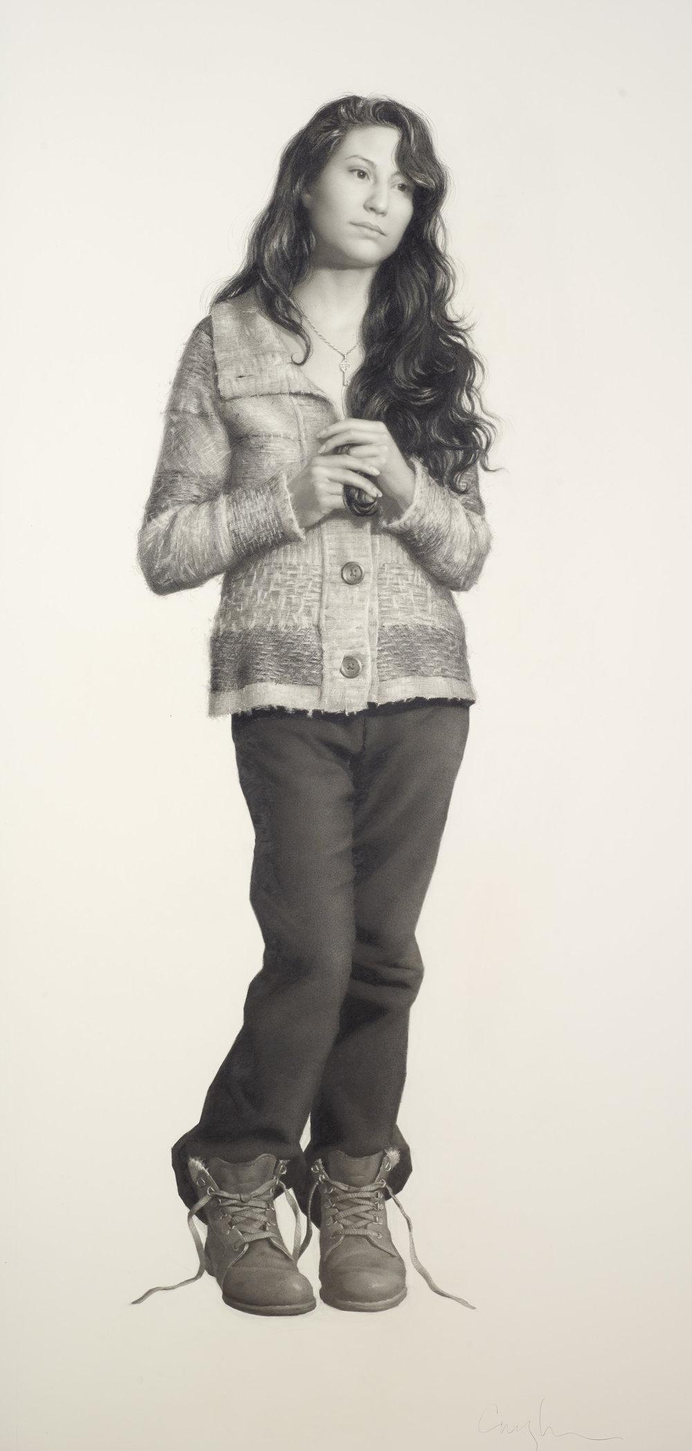 Angela Cunningham, Full Figure Block-in Drawing