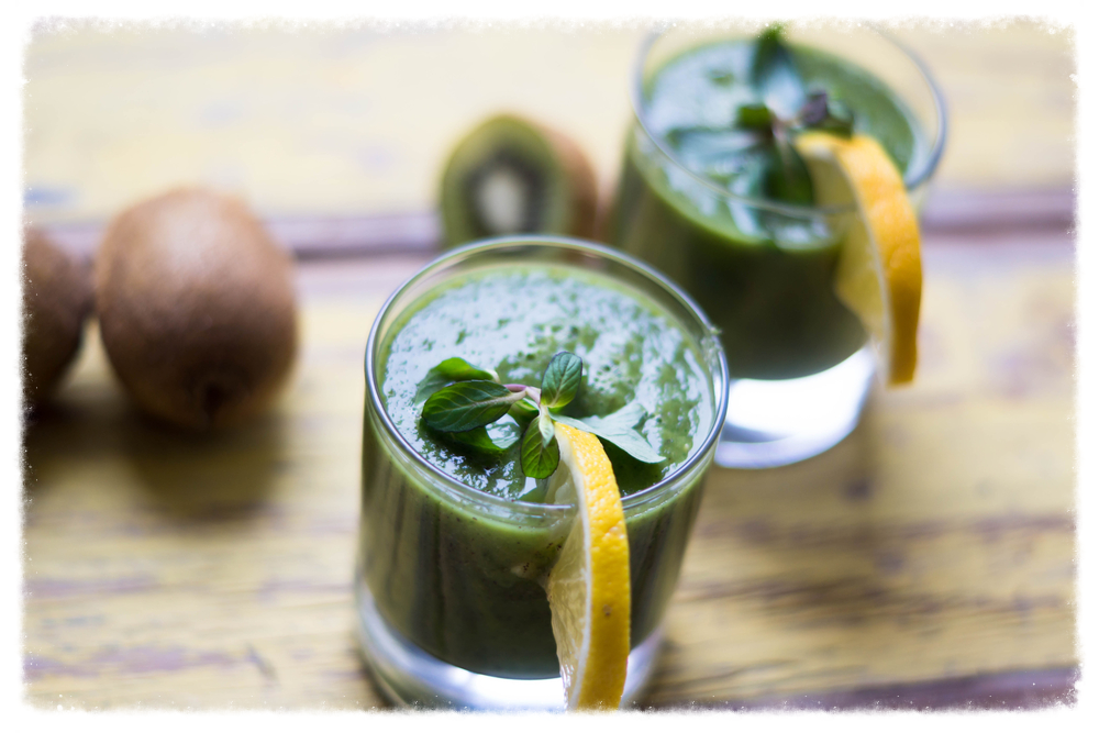 Harness the power of nutrient-dense greens and antioxidant-rich fruits first thing in the morning.