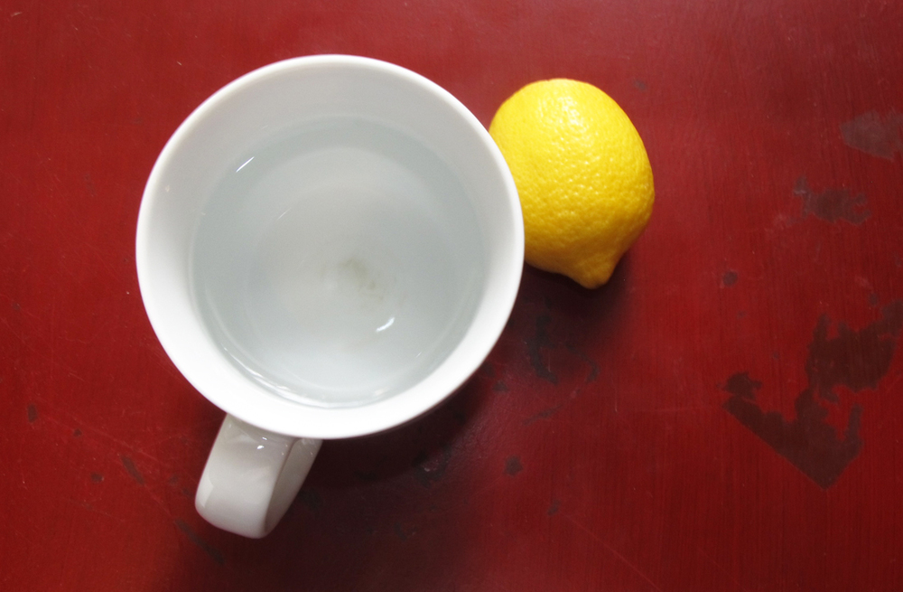 A cup of warm lemon water first thing in the morning is a gentle way to wake up your digestive system and metabolism, and has plenty of other health benefits, too.