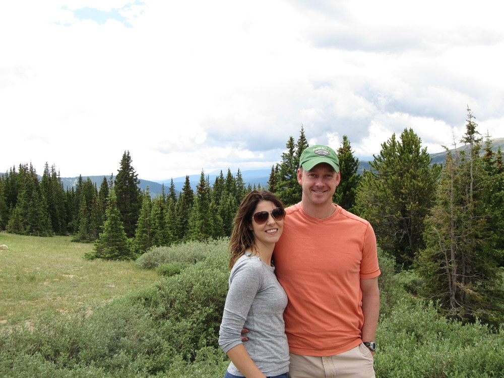 Rachel and Ion Mt. Quandry in 2014, shortly before I learned I couldn't have eggs...