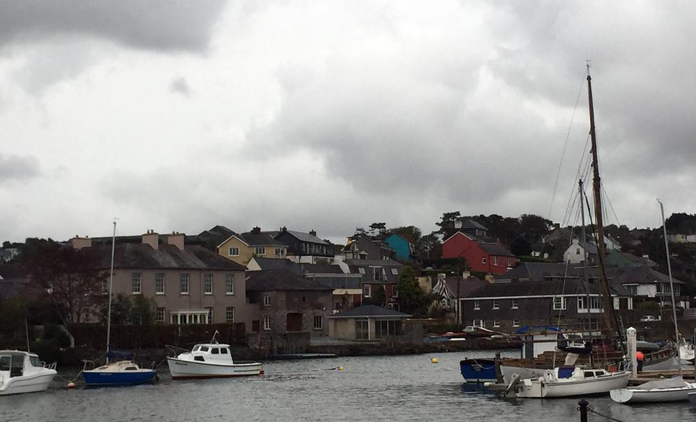 The Kinsale Marina near the Trident Hotel