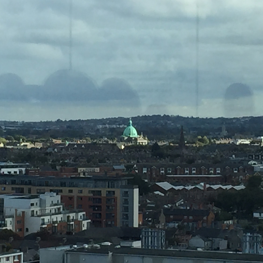 A view of Dublin from Gravity Bar.