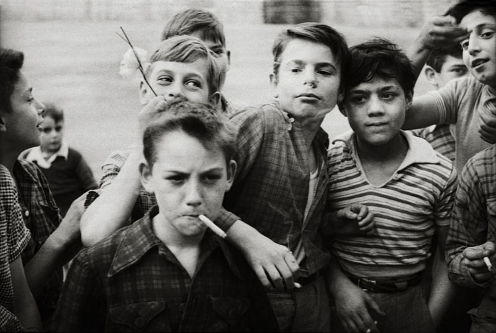 Les Garcons, 1955