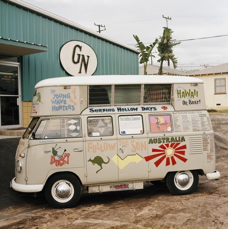 Aussie Surf Wagon, Hermosa Beach, 1965