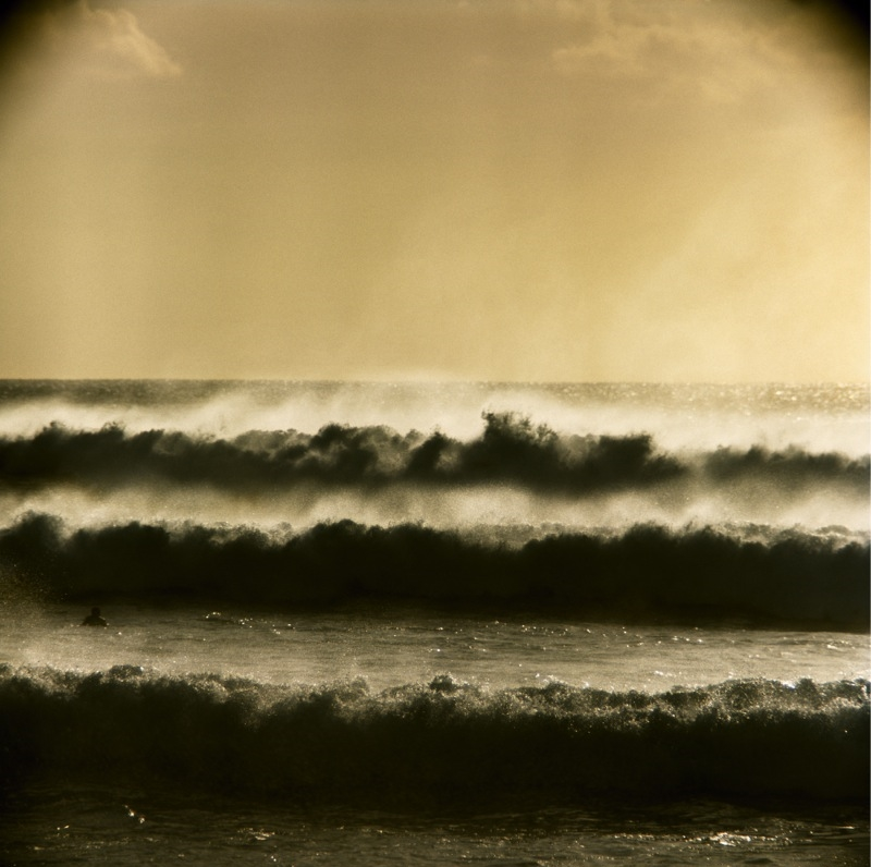 Big Storm Surf at Ehukai Beach (near Pipeline), 1969