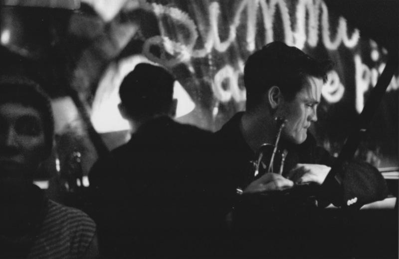 Chet Baker, 1955