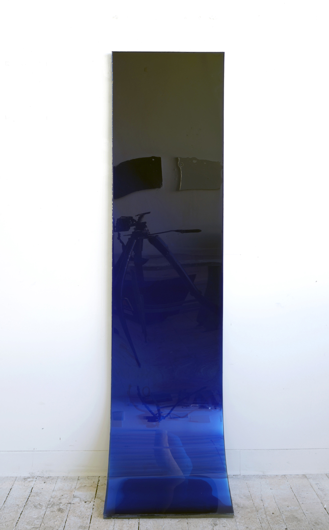 72 by 18 (deep blue fade), 2009