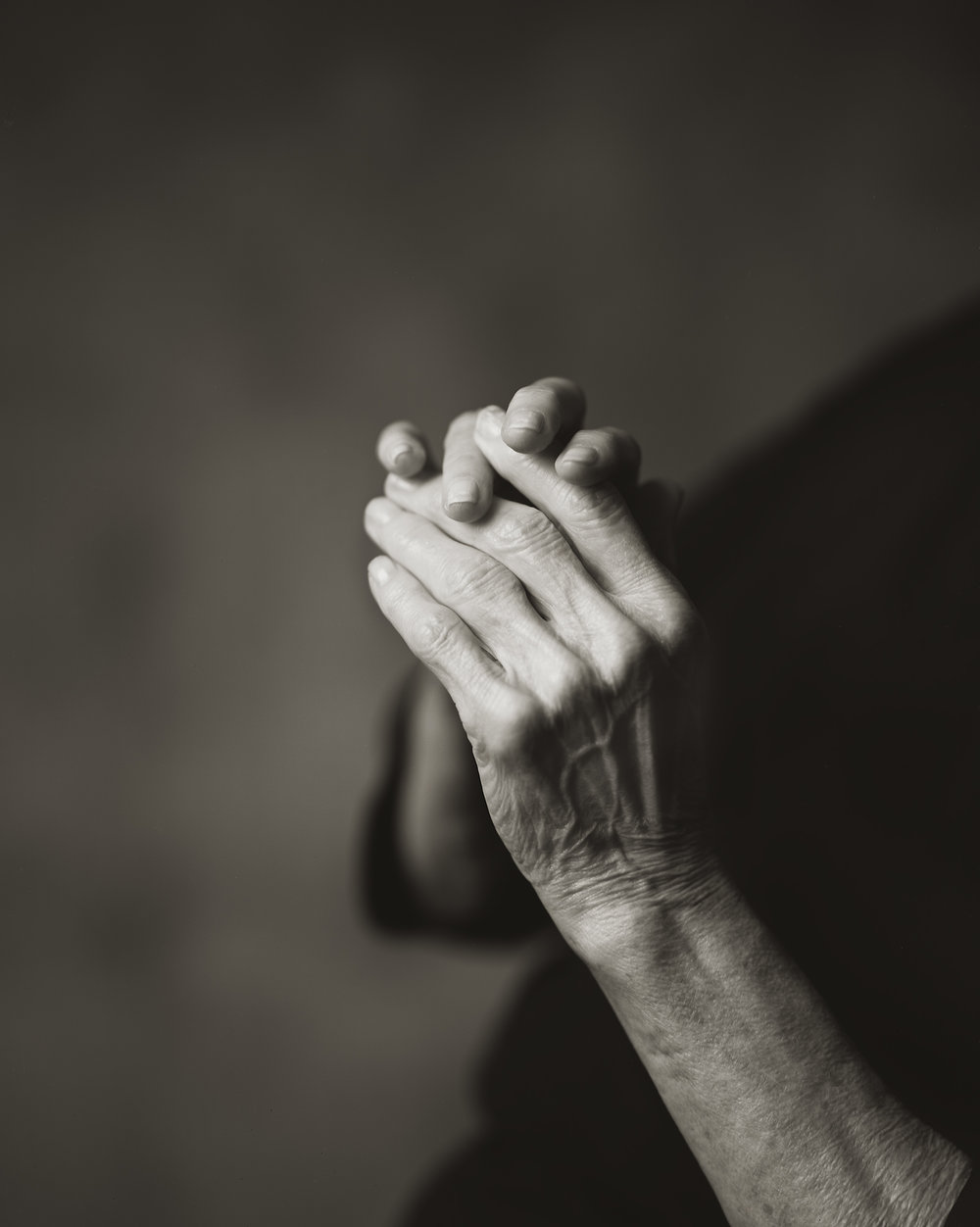 My Mother's Hands with Arthritis, 2015