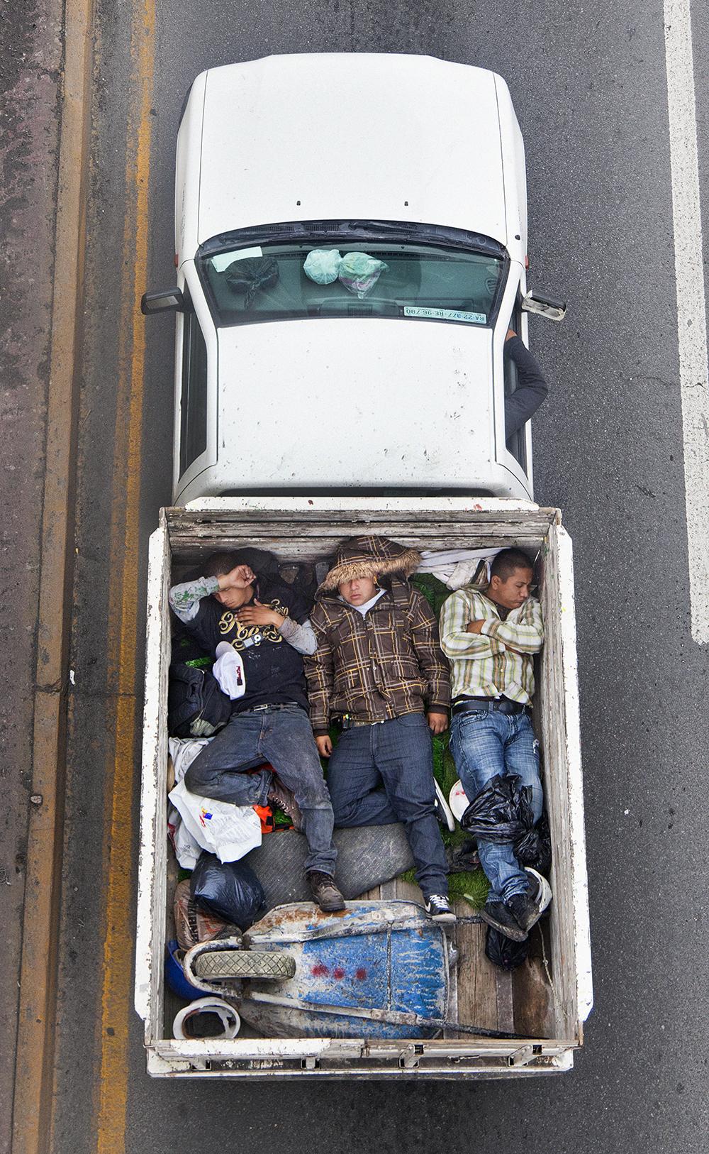 Carpoolers #4, 2011-2012