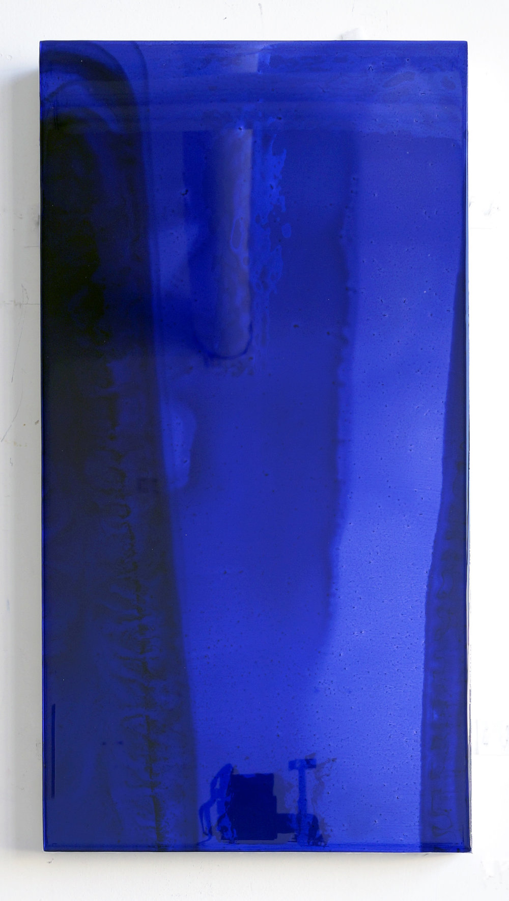 19 by 10 (deep blue), 2017