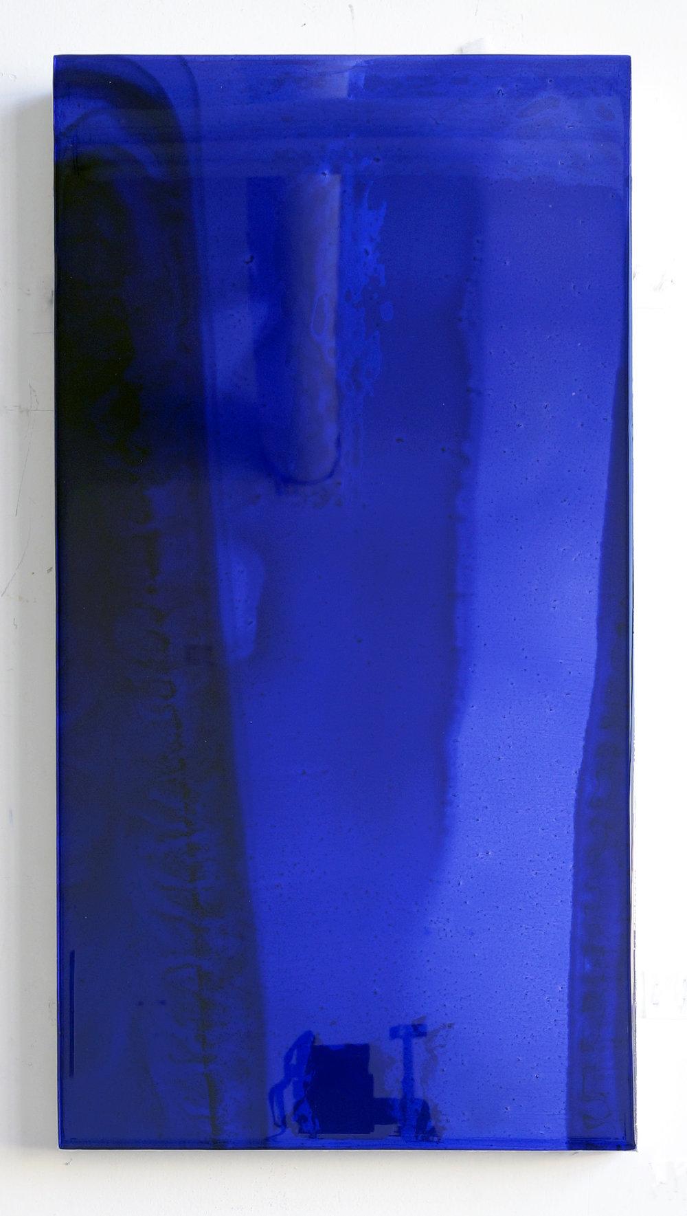 19 by 10 (deep blue), 2017