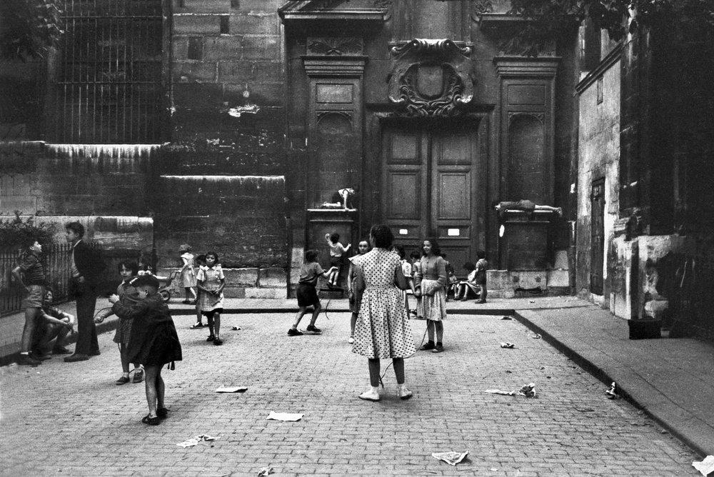 Recess, 1955