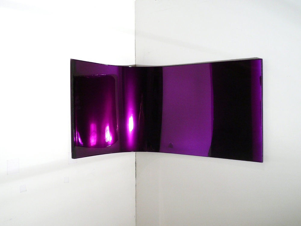 18 by 42 (purple corner #2), 2010
