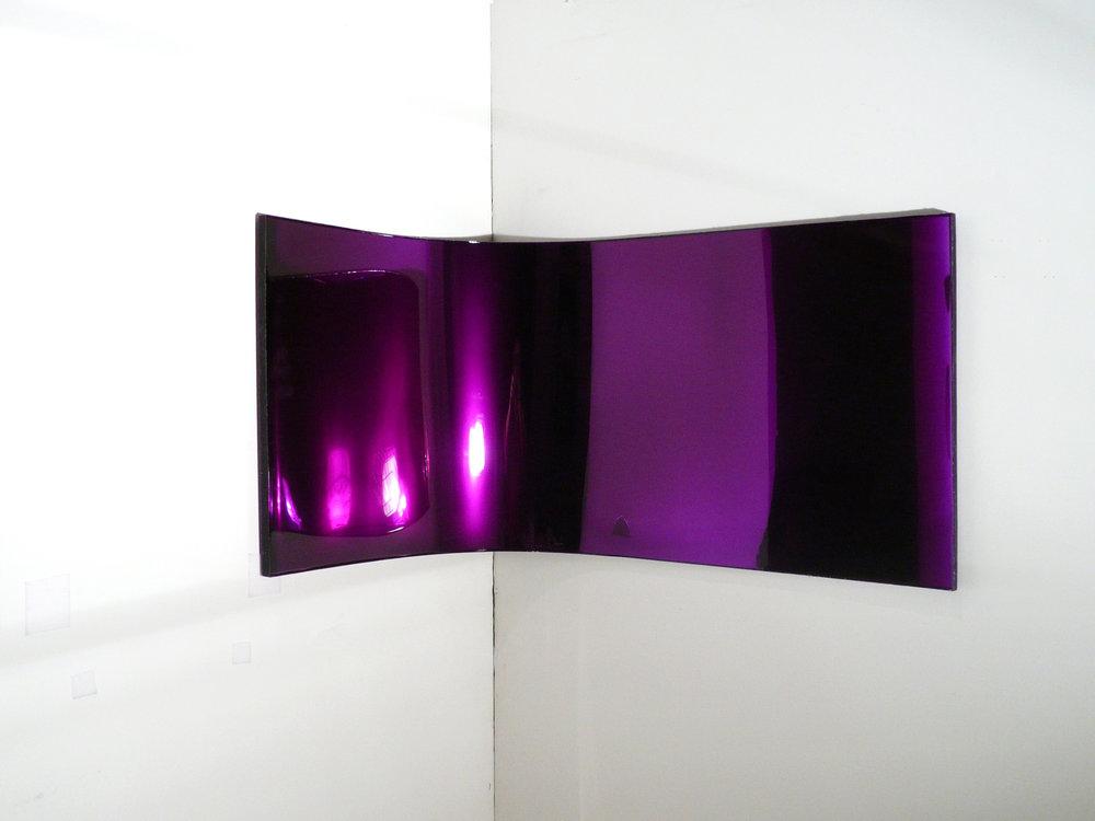 18 by 42 (purple corner #2), 2010