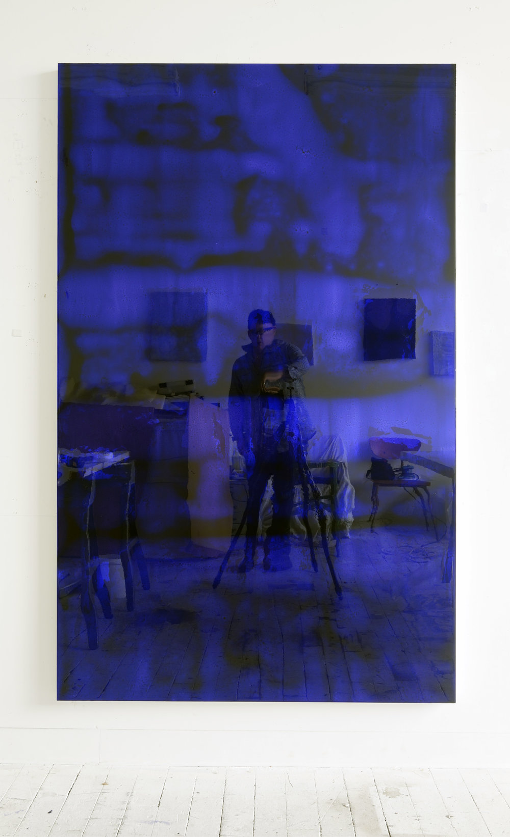 72 by 45 (deep blue #2), 2011-2017