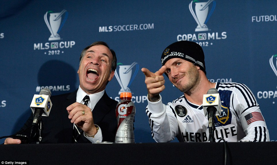 Happier Days for Bruce back when he cared about MLS Cup.
