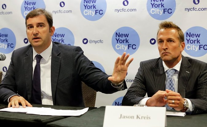 Jason Kreis in happier days being told to shut the hell up.