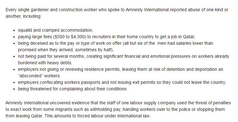 From Amnesty International