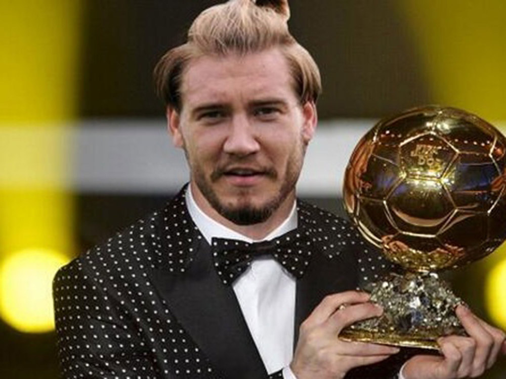 This photoshop was randomly found online.  Bow before Bendtner.