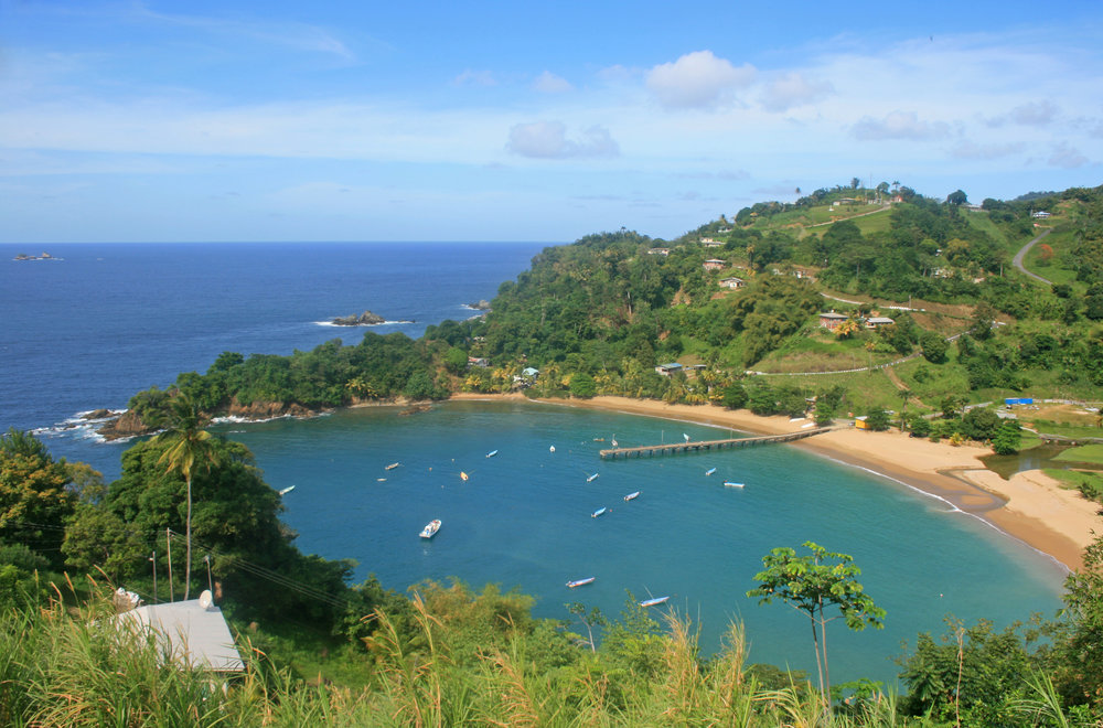 This view of Tobago will be improved by a Starbucks, a Hilton, and an Aeropostale franchise after the United States wins.