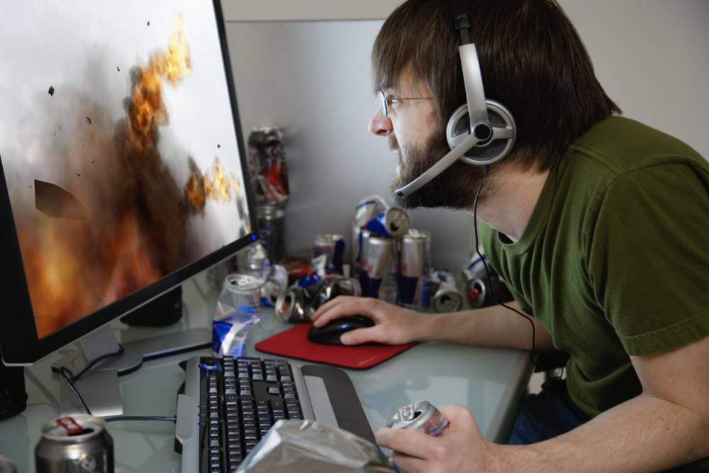 Driscoll's other passion is gaming, just so you know.  (Photo: Getty)