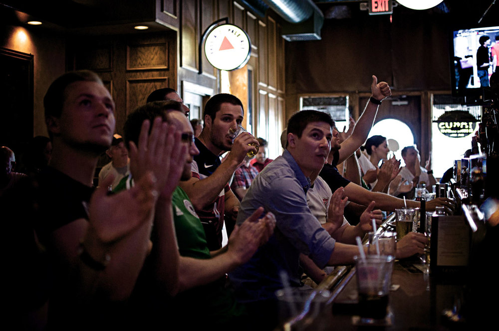 Put your hands up if you are drinking before 10:00 am!