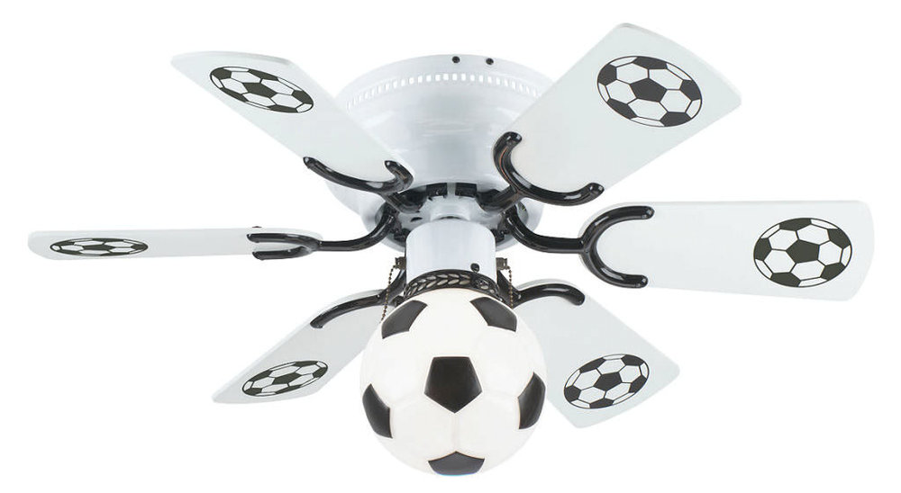 All ideas available from http://warisanlighting.com/soccer-ceiling-fan.html