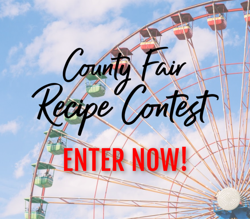 Will you get the blue ribbon and great prizes? Enter your recipes now! Click to learn more.