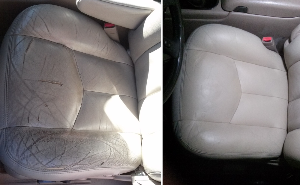 Leather Seat Repair 2003 Tahoe