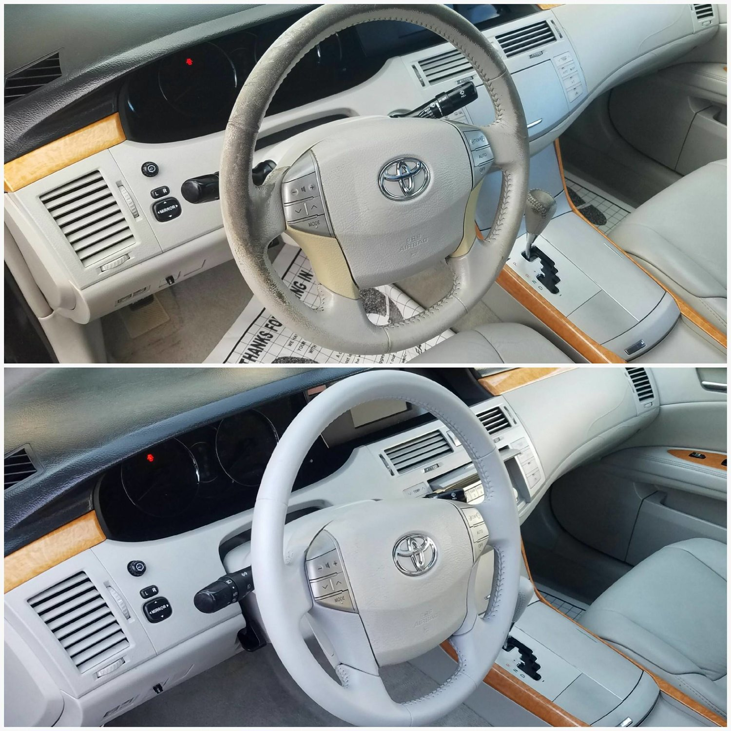 Steering Wheel Restoration - Toyota Avalon — Seat Doctors