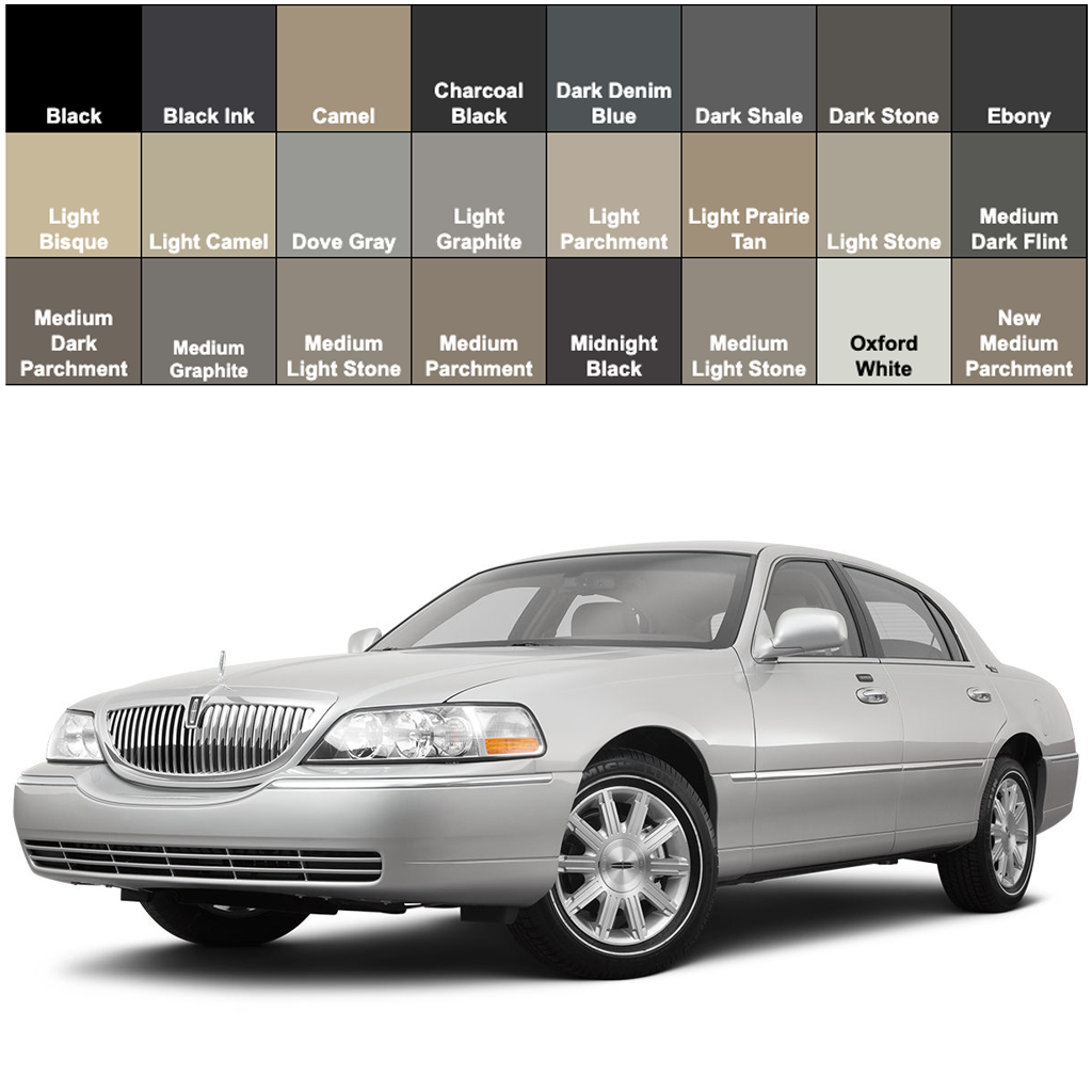 Lincoln Town Car Leather Dye Seat Doctors