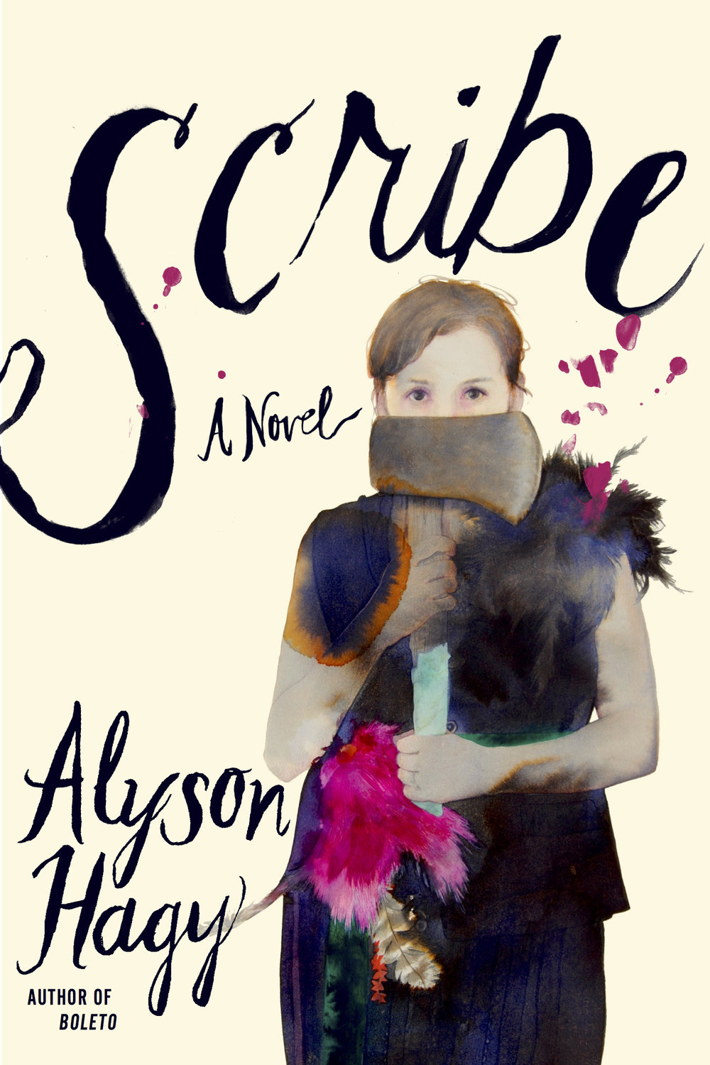 SCRIBE  BY ALYSON HAGY  GRAYWOLF | 2018     ARTWORK | JUNE GLASSON  DESIGN | KIMBERLY GLYDER