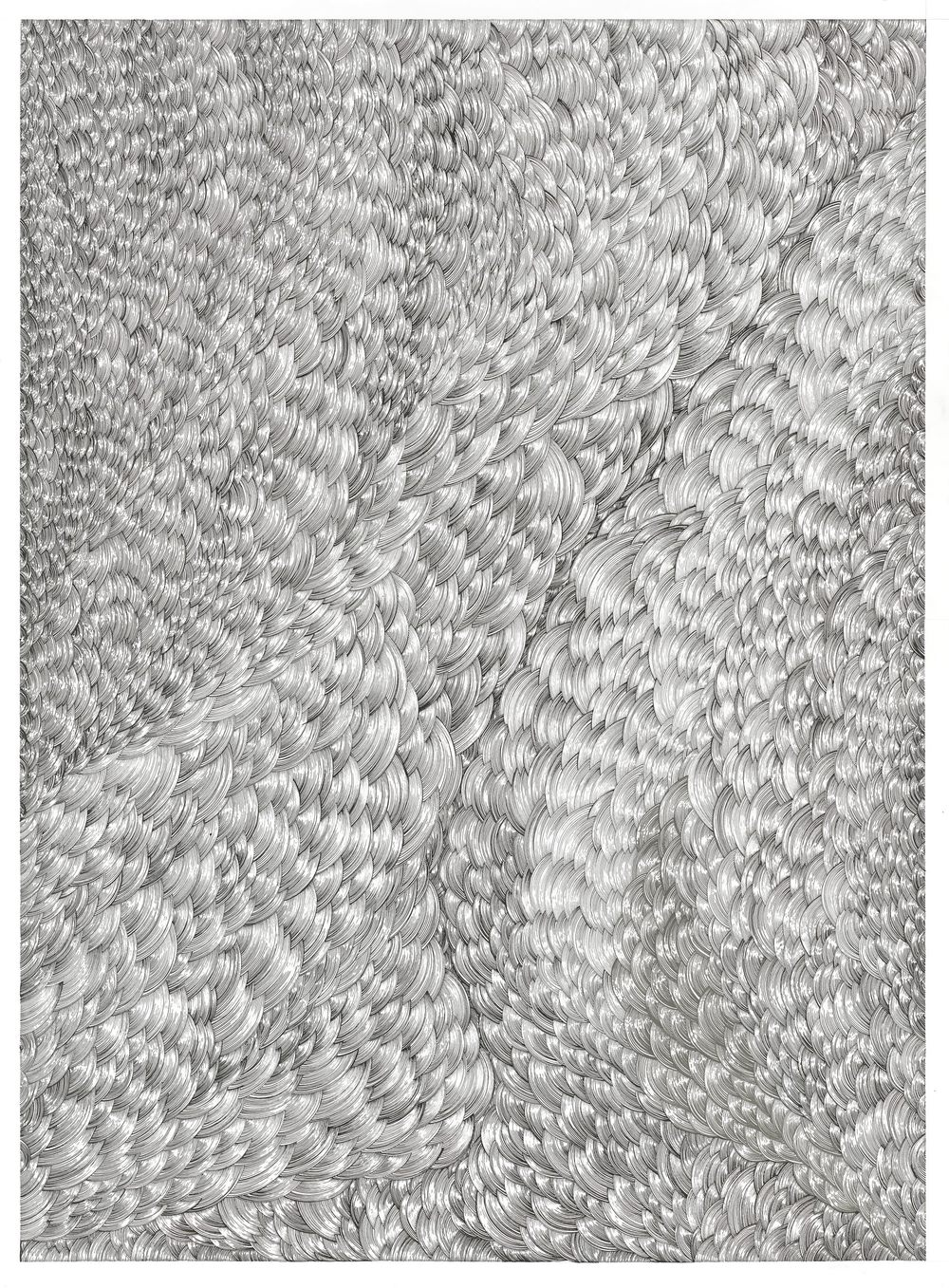BK P158   diptychon part B   untitled   acrylic on paper   200x170cm_2014   collection kunstwerk alison u. peter w. klein