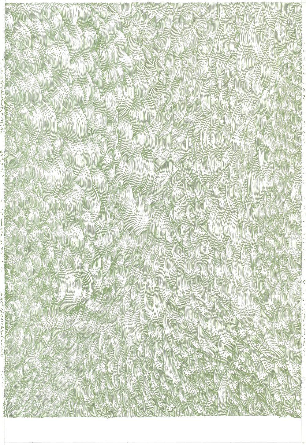 BK P136 | acrylic on paper | 150x103cm | 2013