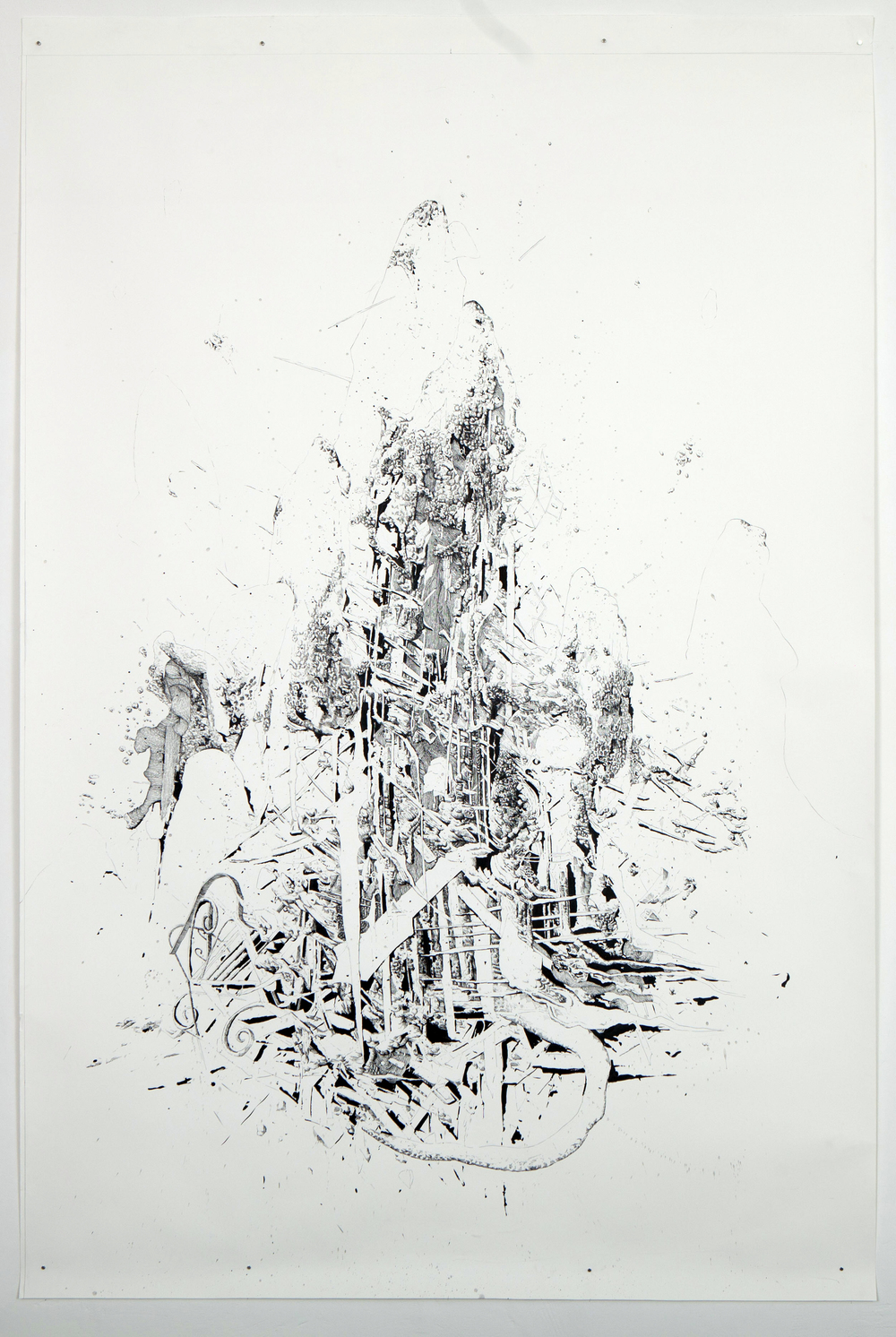 BK_P_00210_untitled_ink_on_paper_Tusche_220x150cm_2012_ privat collection potsdam