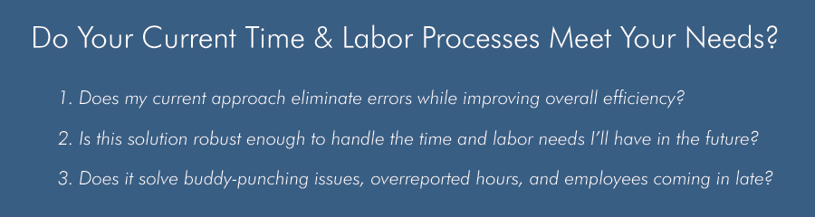 labor efficiency time processing payroll accurate labor costs