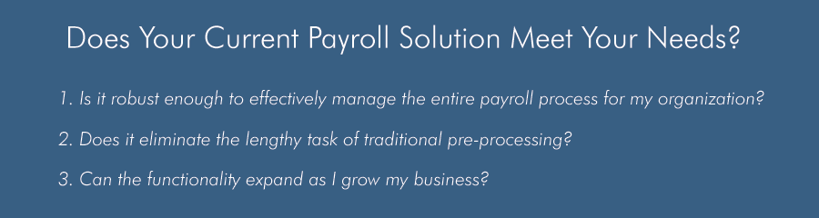 Your Payroll solution
